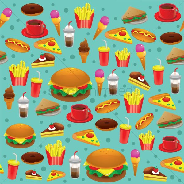 Food Background Vector - 1305818 Stockunlimited