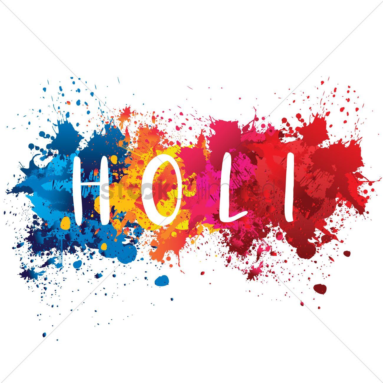 Happy Holi Hd Wallpaper Holi Festival Of Colors Vector Image 1993658