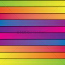 Horizontal Stripes Background Vector - 1621842