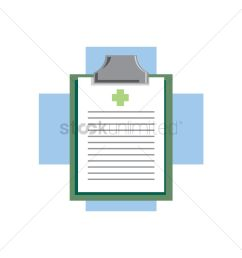 free medical board on a cross vector graphic [ 1300 x 1300 Pixel ]