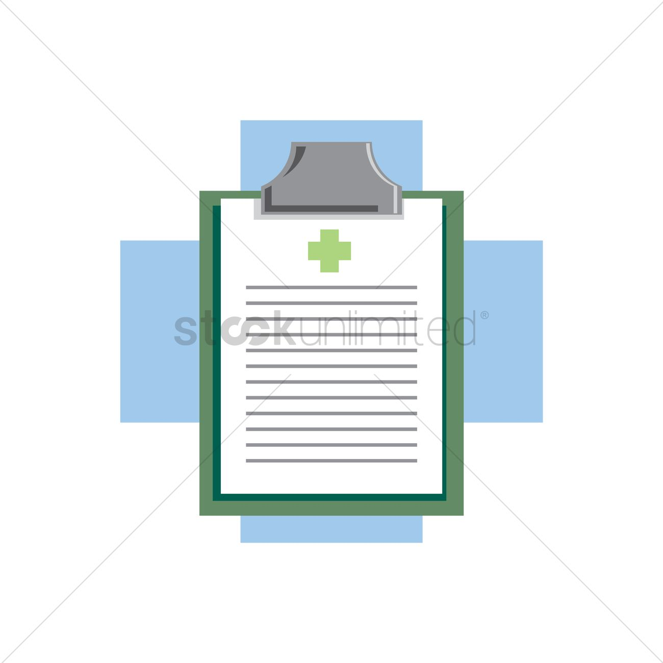 hight resolution of free medical board on a cross vector graphic