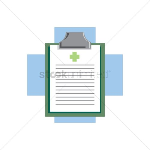 small resolution of free medical board on a cross vector graphic