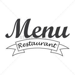 menu restaurant icon vector graphic stockunlimited sign transparent
