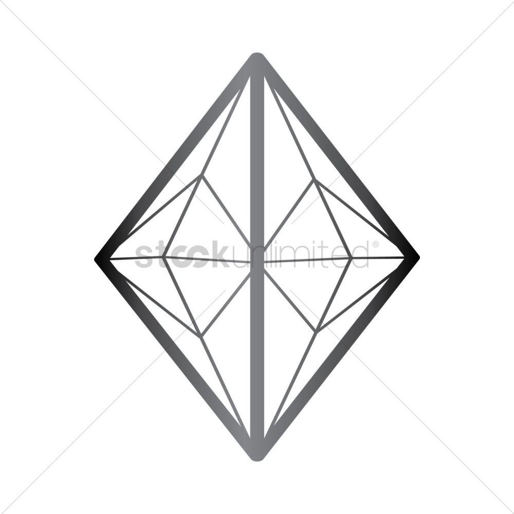 medium resolution of rhombus diamond structure vector image 1357346 stockunlimited rh stockunlimited com rhombus pattern rhombus and trapezoid