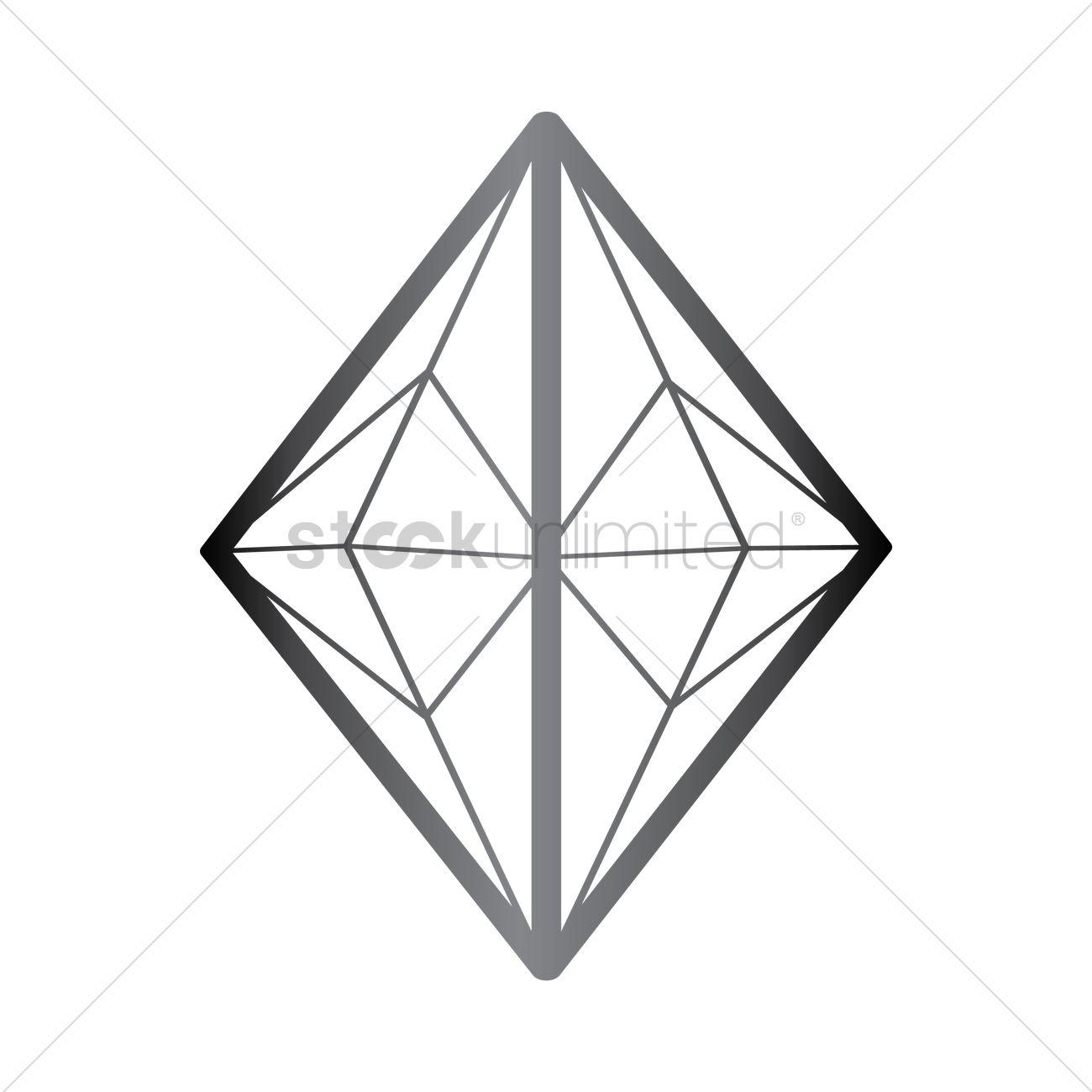 hight resolution of rhombus diamond structure vector image 1357346 stockunlimited rh stockunlimited com rhombus pattern rhombus and trapezoid