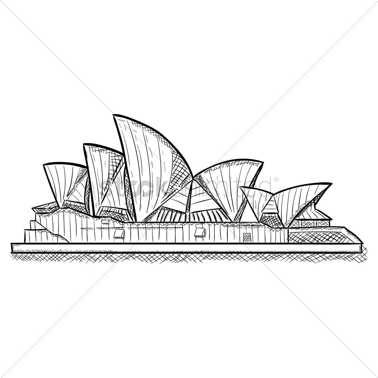 Sydney Opera House Architectural Drawing T Opera House