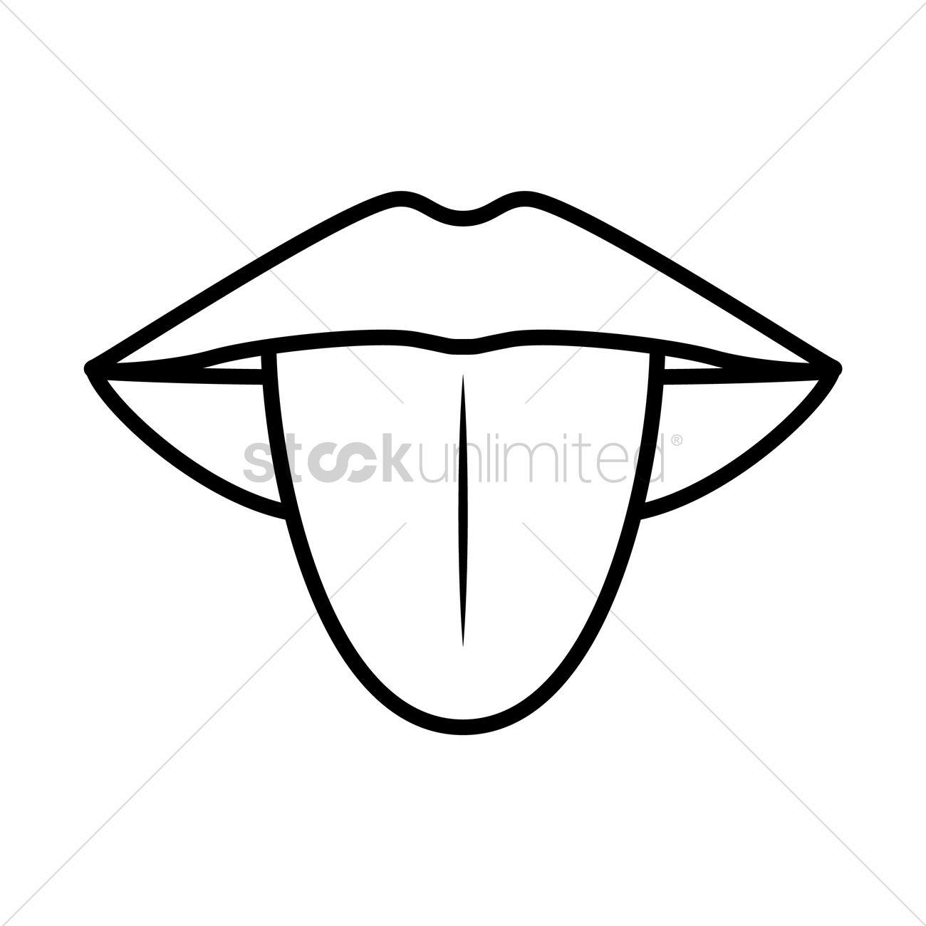 Tongue Vector Image