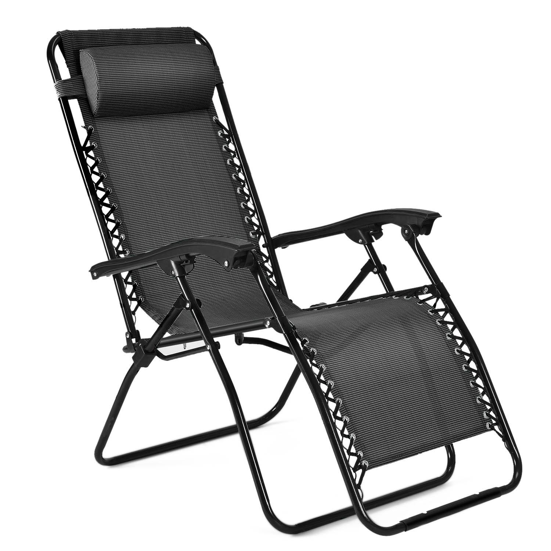 Zero Gravity Chair  Outdoor Lounge Folding Reclining
