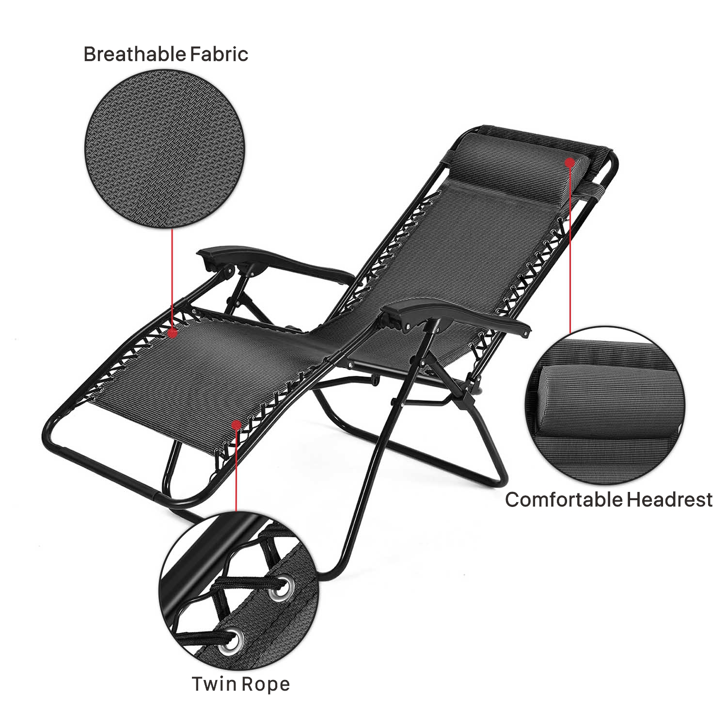 anti gravity pool chair cover hire north brisbane zero outdoor lounge folding reclining