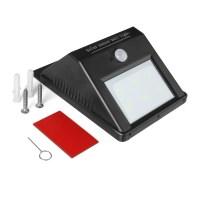 Solar Outdoor Light Powered Motion Sensor Security ...