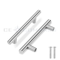 Stainless Steel Kitchen Door Cabinet T Bar Handle Pull ...