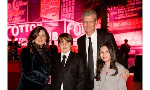 Leonardo Del Vecchio Family - Celebrity Family