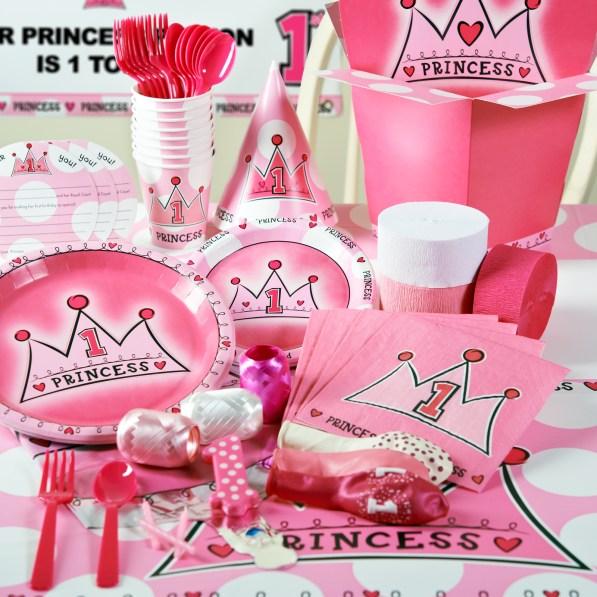paquete de fiesta Celebra su primer cumpleaños como toda una princesa con estilo