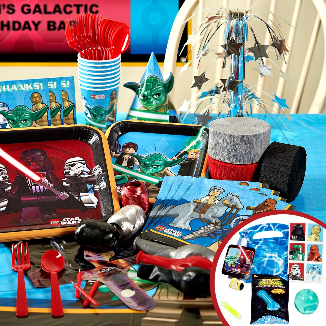 The Force Is Strong With A Lego Star Wars Party From Birthday Loz Mini 1607 Md Burger Express