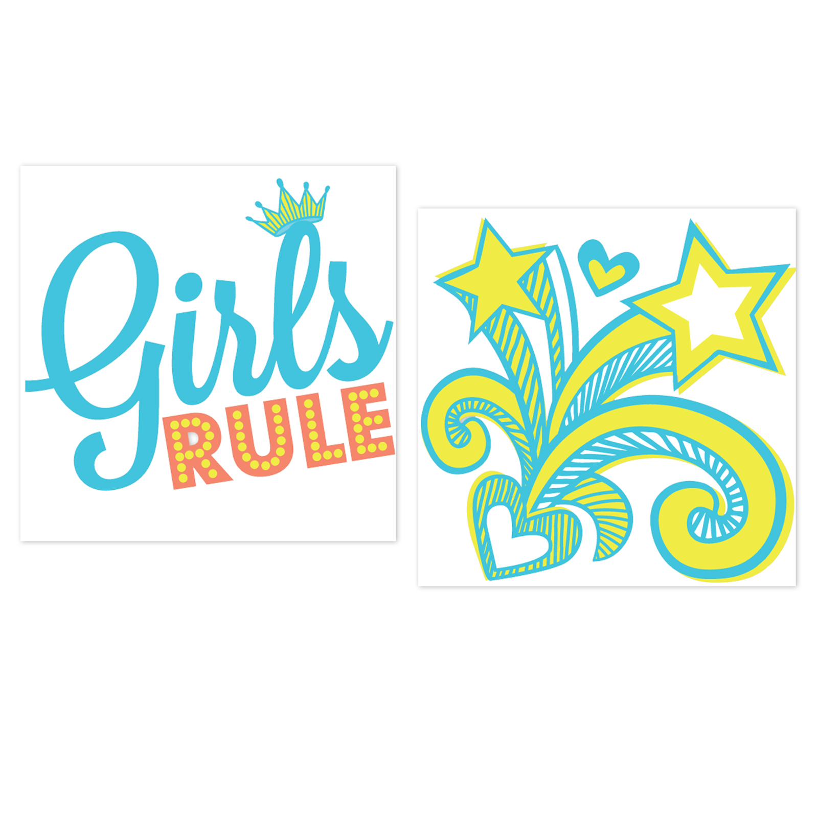 Girls Only Party Tattoos