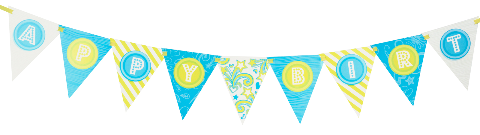 Girls Only Party Ribbon Banner Kit