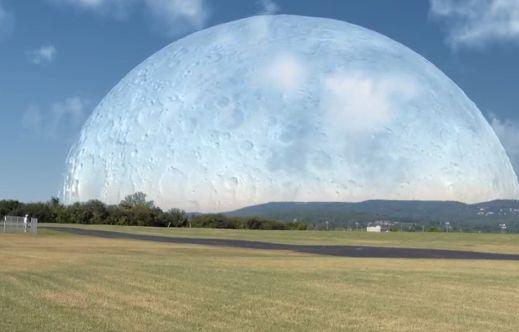 Terra e Luna distanza di 400 km Il video  Centro Meteo Italiano
