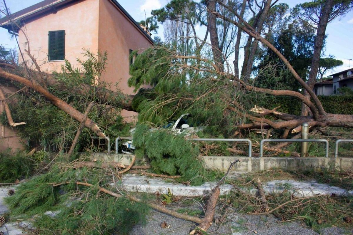 Maltempo Forte dei Marmi devastazione in centro danneggiata la casa di Andrea Bocelli  Centro