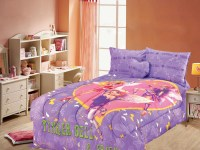 4Pcs Toon Studio TinkerBell Twin Bedding Comforter Set