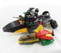 New Lego BATMAN Robin's Scuba Jet Attack Penguin 7885   eBay