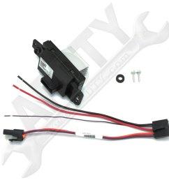 blower motor resistor control module 2006 on ford f150 blower motor [ 1001 x 1001 Pixel ]