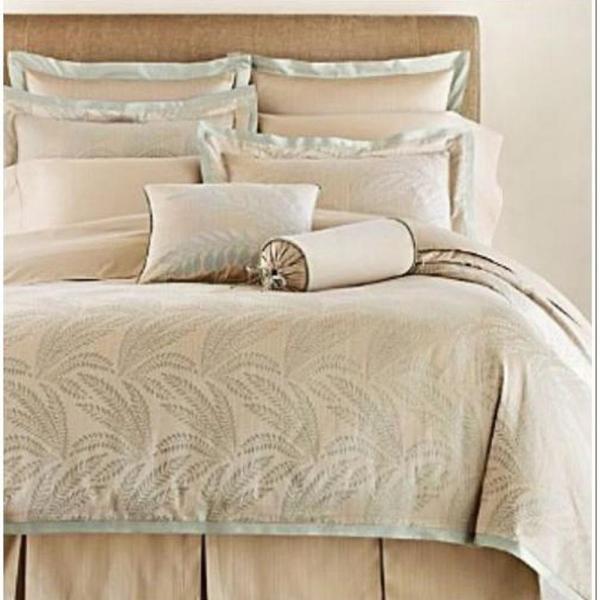 Charisma Painted Fern King Duvet Cover Pecan NEW | eBay