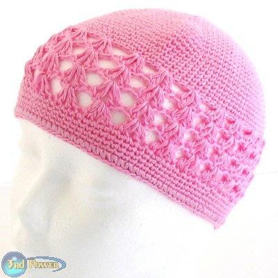 Pink Kufi Beanie