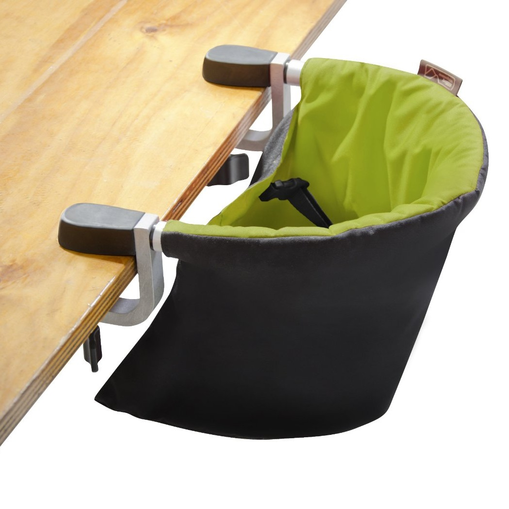cloth portable high chair antique nursing rocking value mountain buggy pod v2 clip on highchair lime ebay