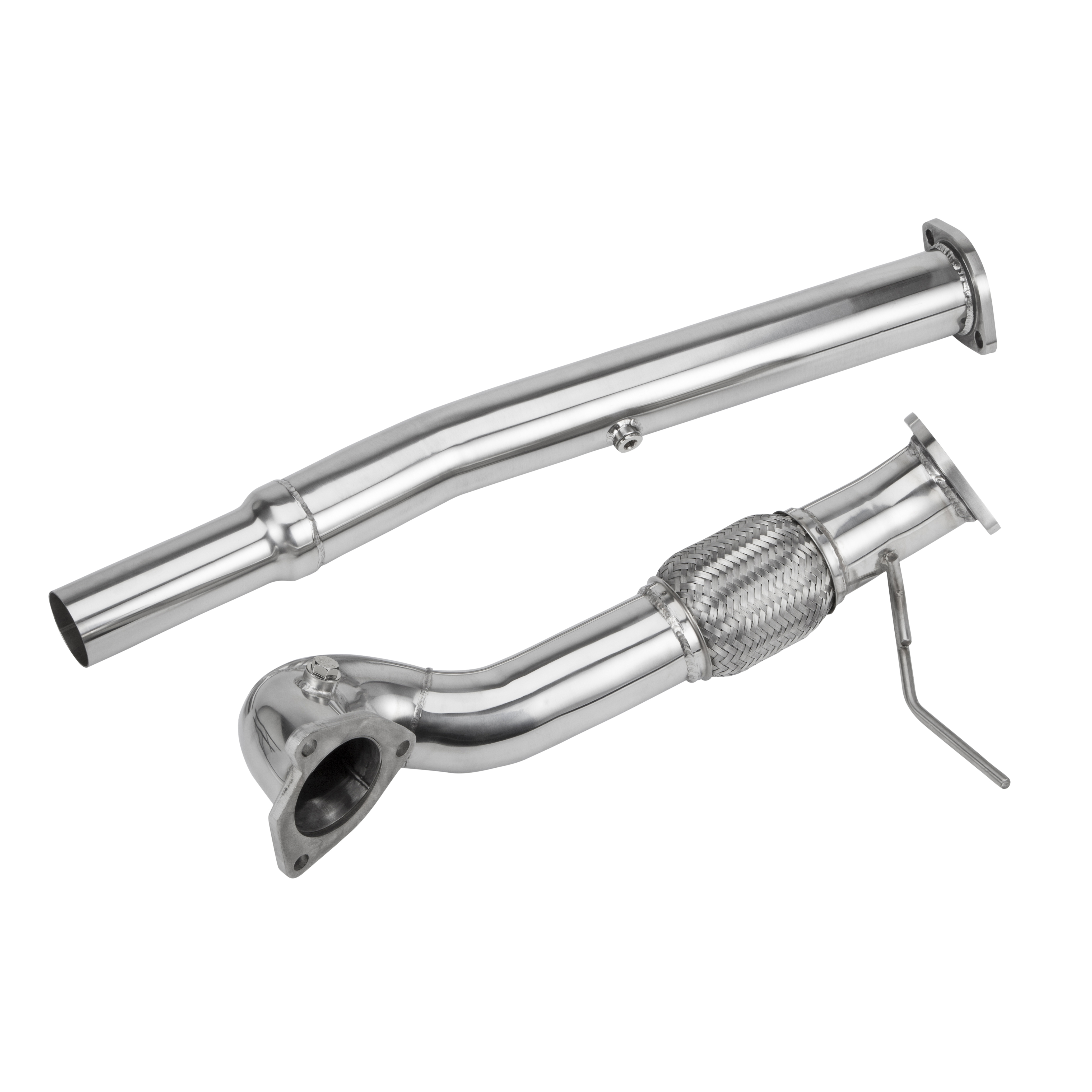 Stainless Steel Exhaust Turbo Decat Downpipe Audi S3 Tt