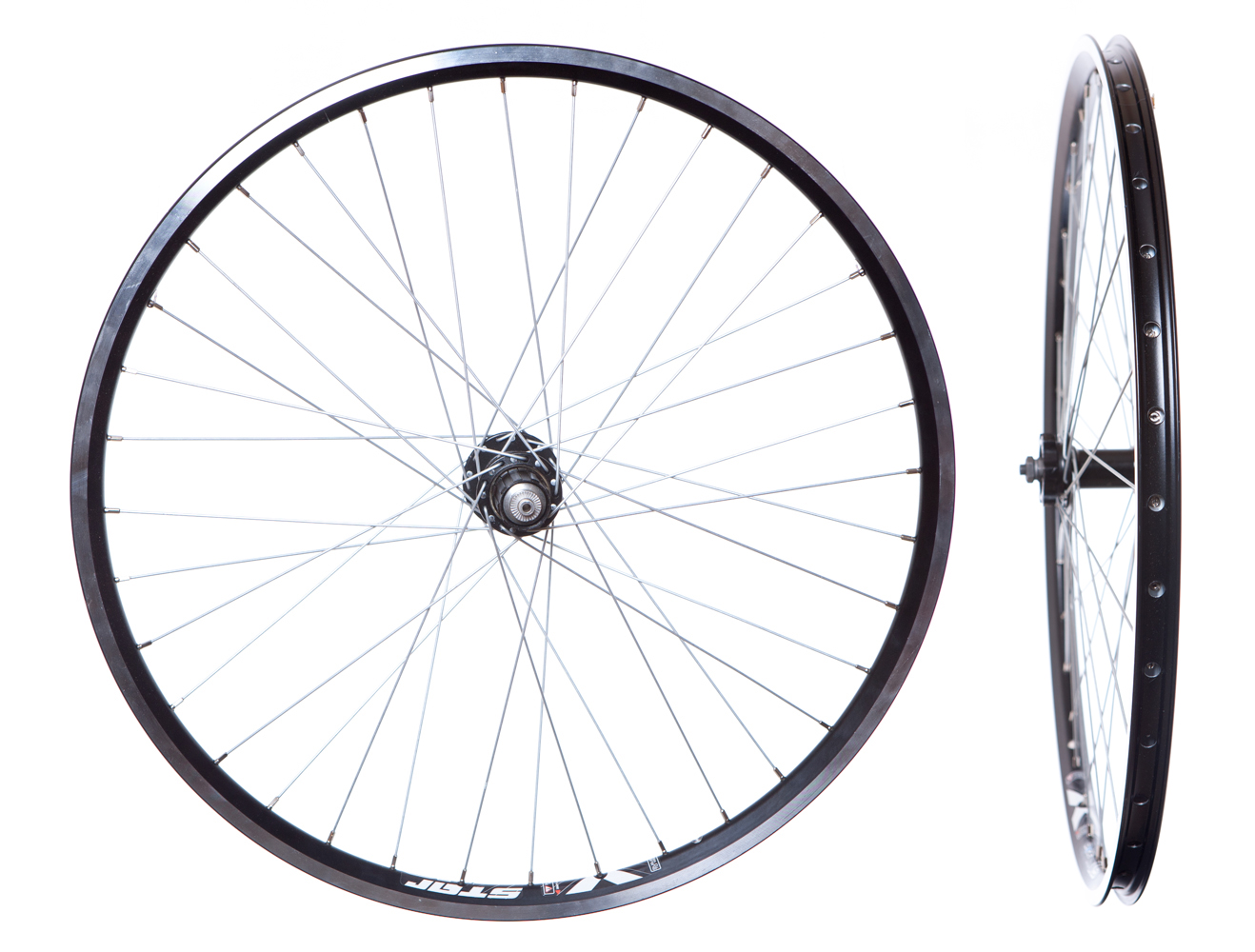 26 Mtb Wheelset In Black X Star 7 8 9 Speed High Quality Disc Hubs Quick Releas