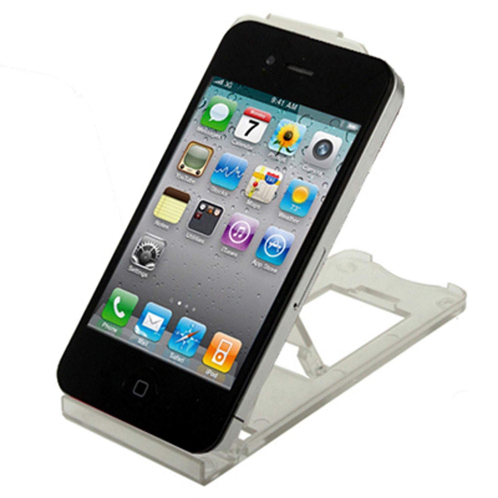 iPad Tablet iPhone Desk Stand Holder Mobile Phone Folding