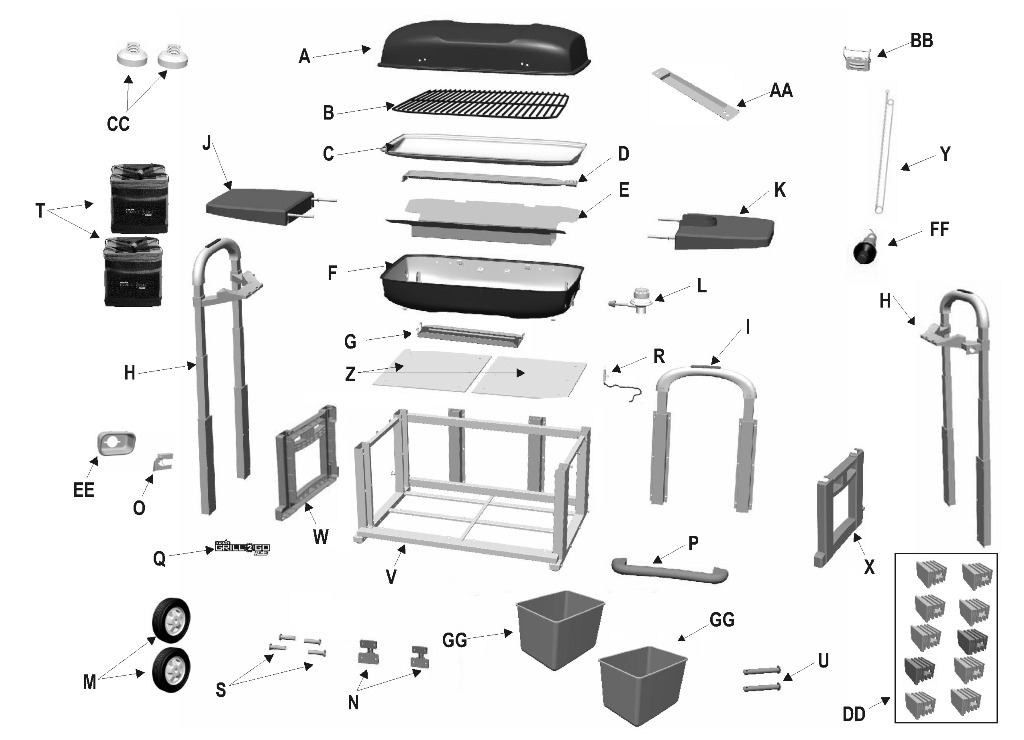 Charbroil Parts