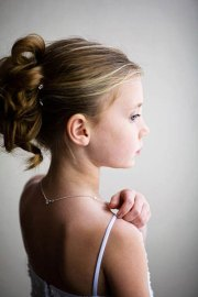 little girls hairdos flower girl