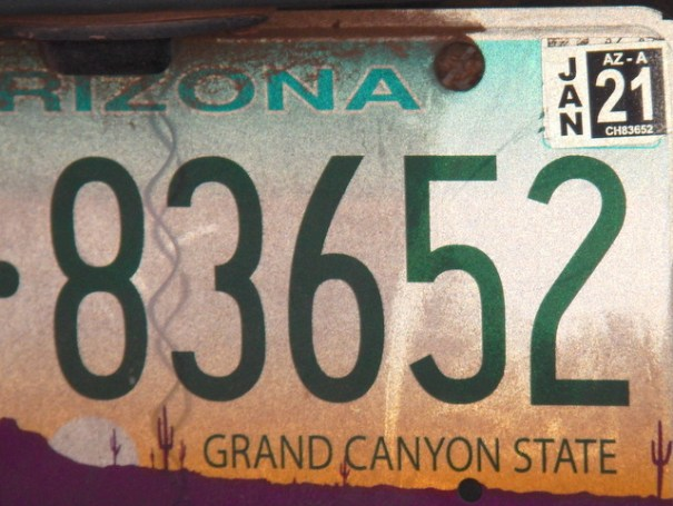 Arizona offers a 5 year Registrations tag, saving you money and time! My 2001 Chevy van cost me $130 for 5 years! Pretty cheap!