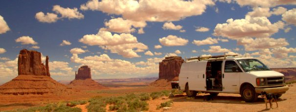 """This is my """"tent site"""" at Monument Valley. Imagine seeing that view constantly? Heaven on earth!"""