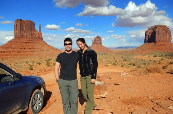 Robert and Deb in Monument Valley.