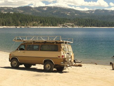 Would you like to be able to drive or camp on beaches? My friends van is a 4x4, but you can safely do it with a 2x4 using these few tips and buying a few items.