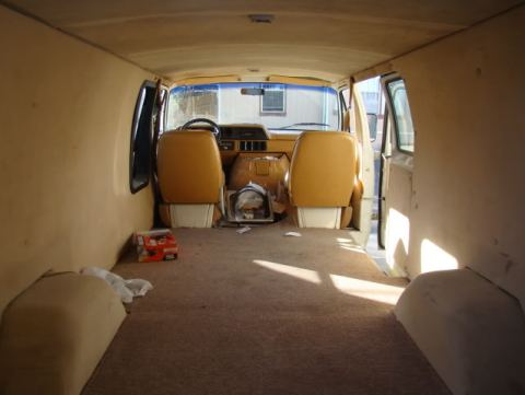cheap rv great van conversion to live in a van. Black Bedroom Furniture Sets. Home Design Ideas