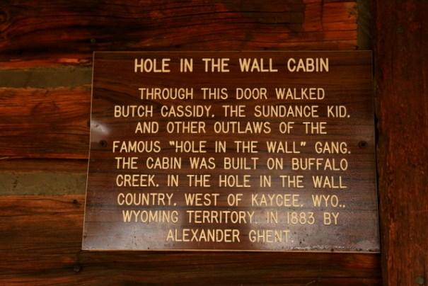Butch Cassidy spent a lot fo time in this part of Wyoming and committed numerous crimes here.