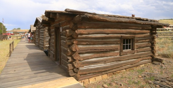 The cabin Butch Cassidy and his gang hid out in.
