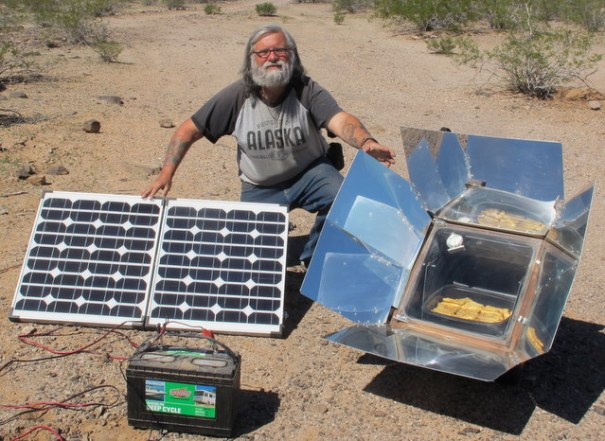 Two great methods of cooking that require no fuel and are fully renewable and unlimited.