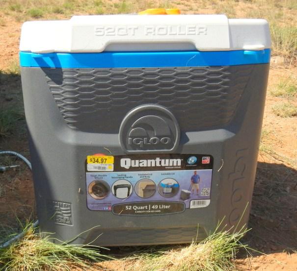I bought an Igloo Quantum, 52 quart cooler.