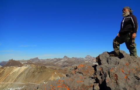 Me on top of Engineer Mt.