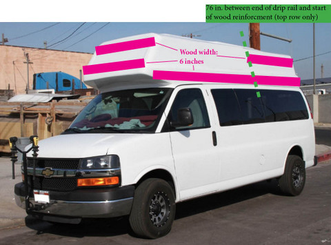 Cheap RV Living com -Installing a New High-top on Your Van