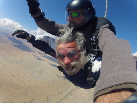 Free Fall is sensory overload! Nothing you have ever experienced can prepare you for the noise and wind.