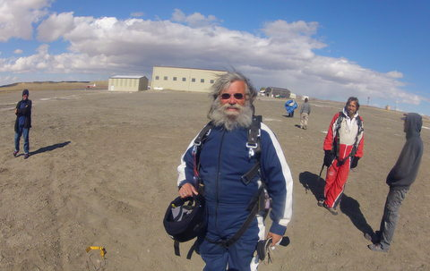 I made it!! Safely back on terra firma!
