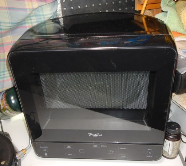 My new (used)  microwave.