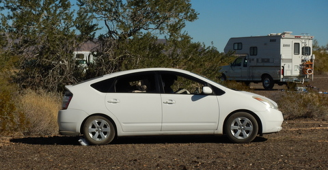 My wonderul friend Suanne takes very long (6 months)  trips in this nice Prius and loves it. She usually averages 45 mpg!