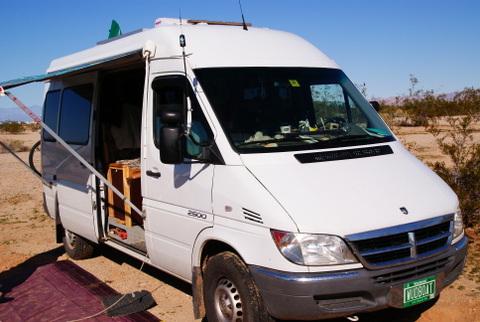 Dodge Sprinter Camper Conversion >> Cheap Rv Living Com Dodge Sprinter Conversion