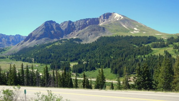 This shot was taken on the drive along the way from Leadville to Steamboat Springs.